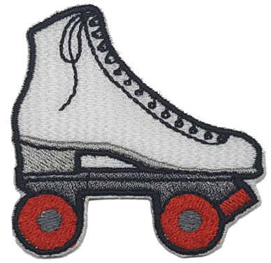 Patch Bordado Termocolante Patins 2 - Ref: 65834 - COD. 1775