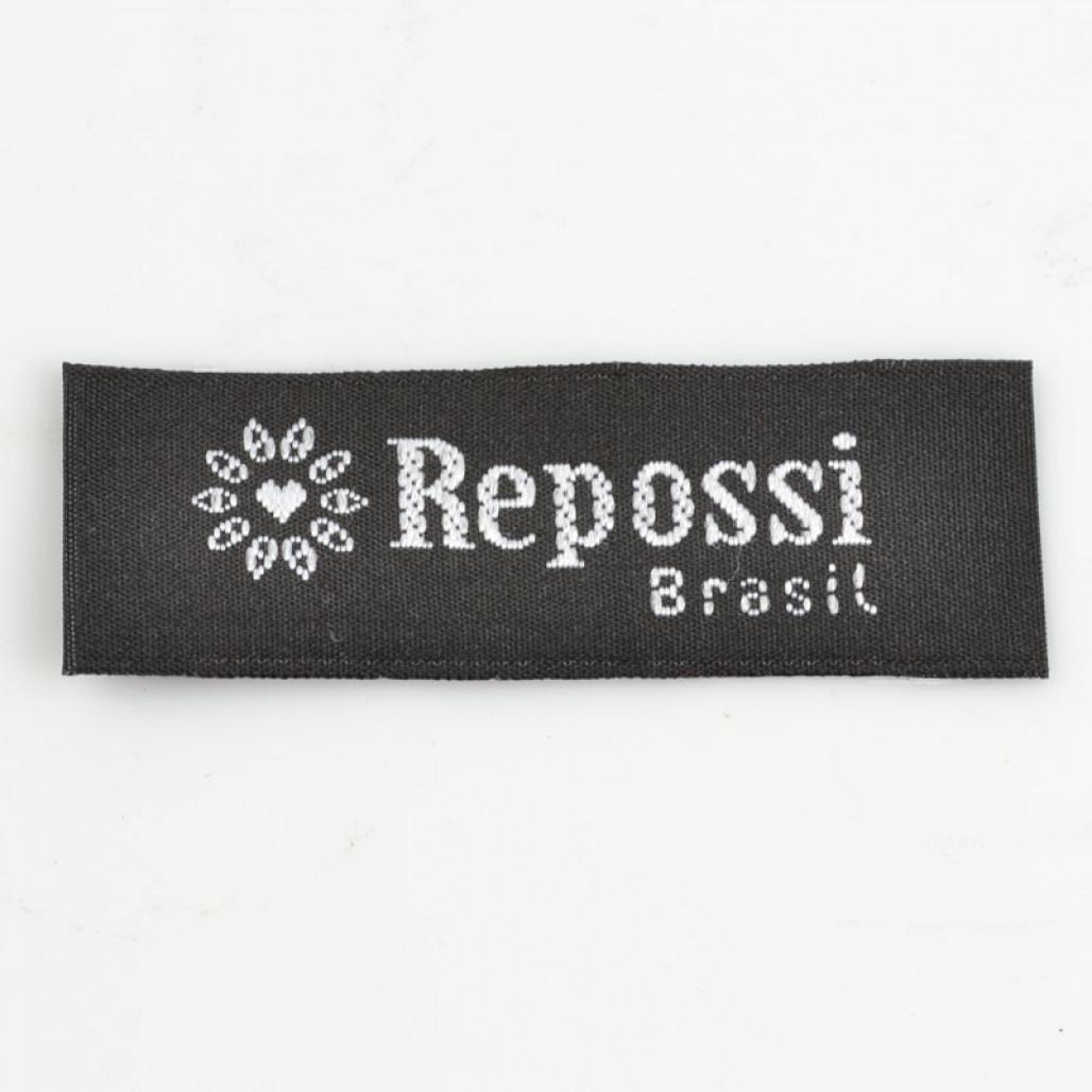 Etiqueta Bordada, 20 mm de largura, Diversos Acabamentos, com Opções Personalizadas