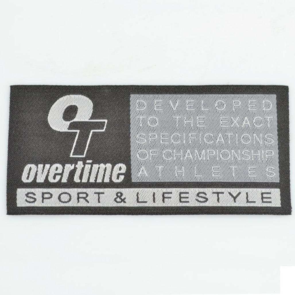Etiqueta Bordada, 40 mm de largura, Diversos Acabamentos, com Opções Personalizadas