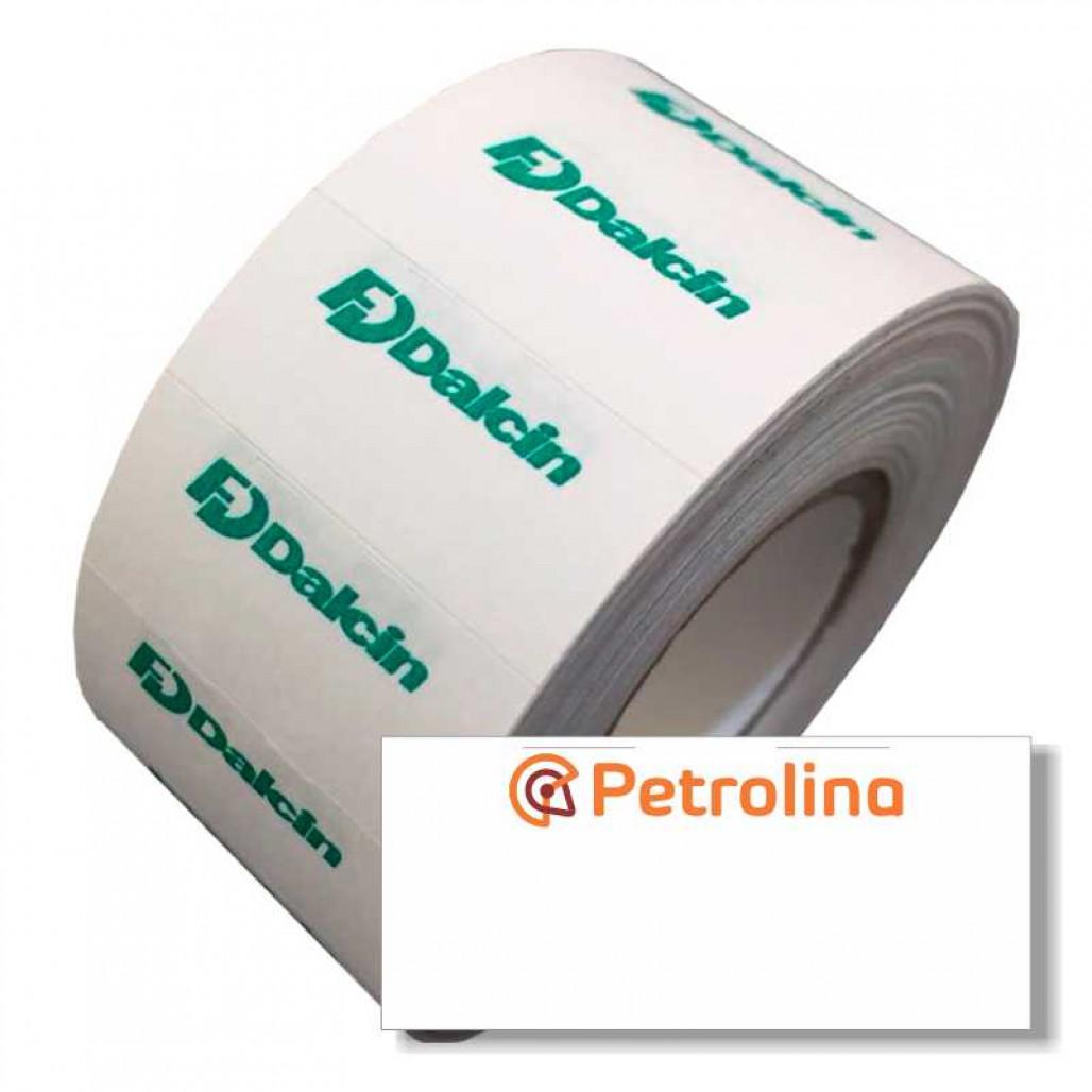 Etiqueta Adesiva, MX 2612, Open C8, Prix 8, 26 x 12 mm para Etiquetadoras, com Opçoes Personalizadas