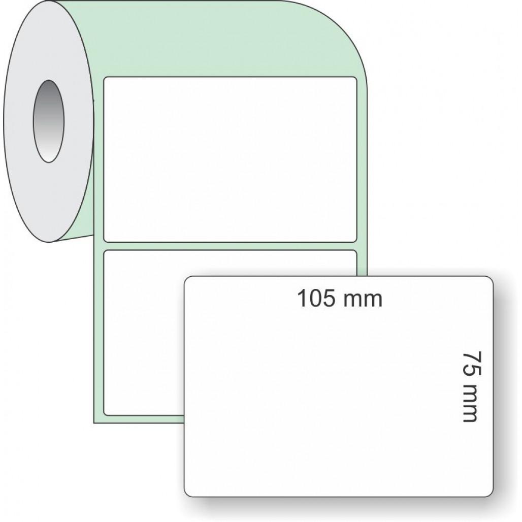 Etiqueta Adesiva 105 X 75 Mm X 1 Coluna Para Impressoras