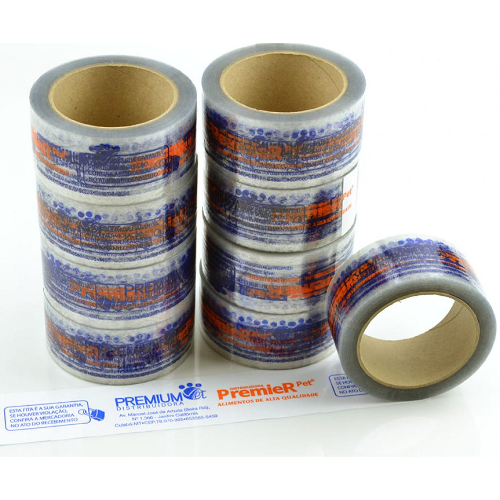 Fita Adesiva Transparente, 48 mm de largura, Cola Extra Forte, com Opções Personalizadas