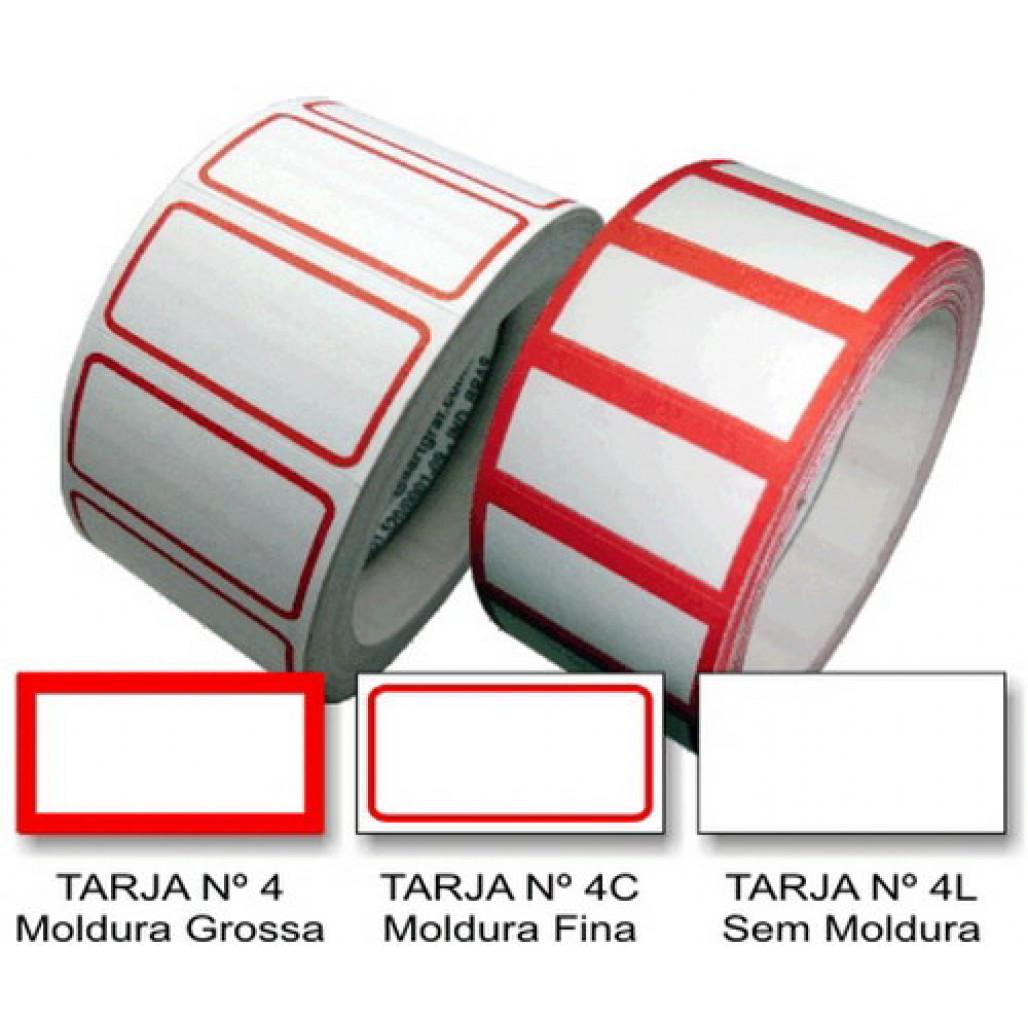Etiqueta Adesiva de Preço 16 x 30 mm (Nº 4, 4C e 4L)