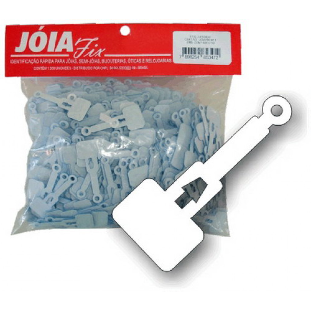 Joia Fix Nº 01, 15 x 37 mm
