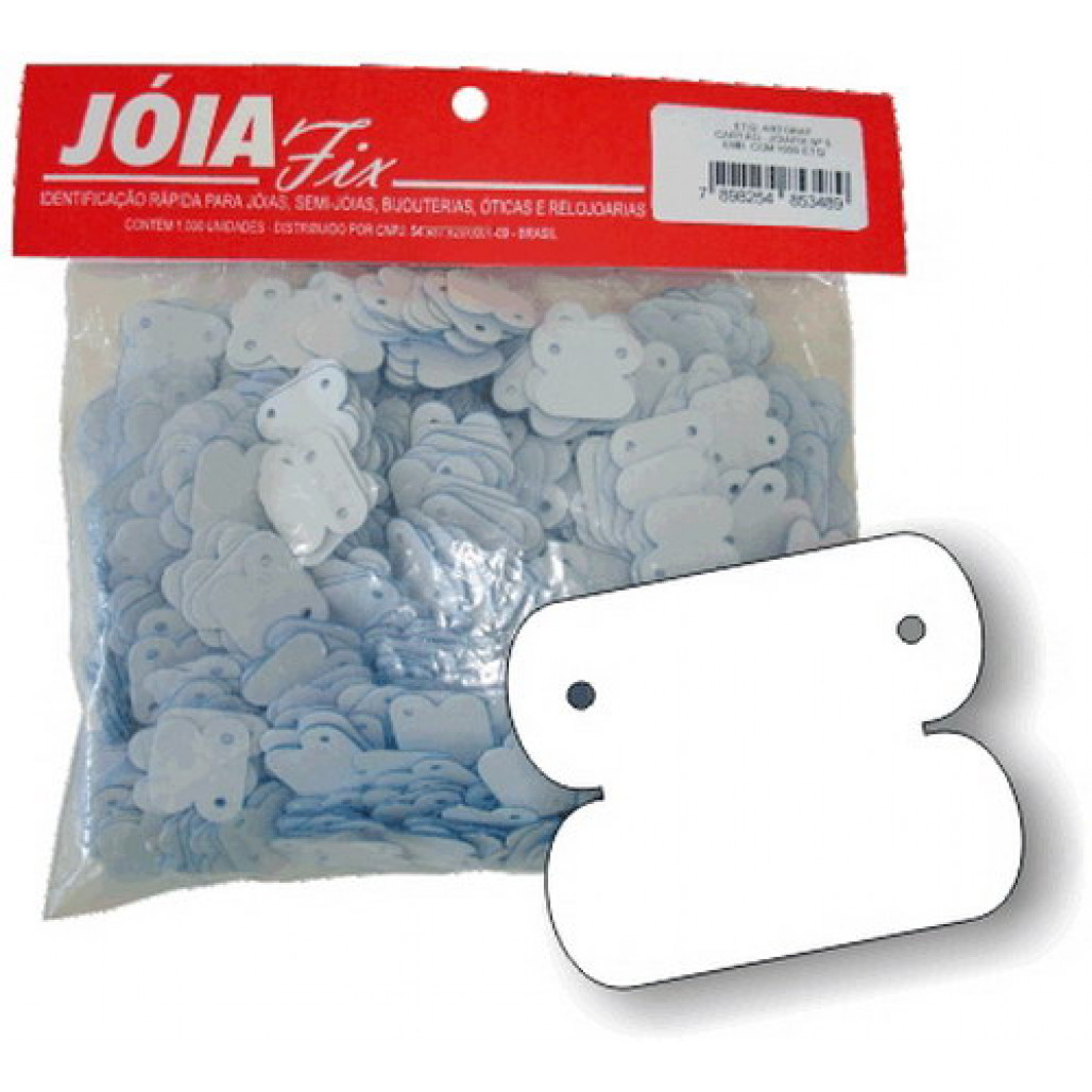 Joia Fix Nº 05, 18 x 15 mm