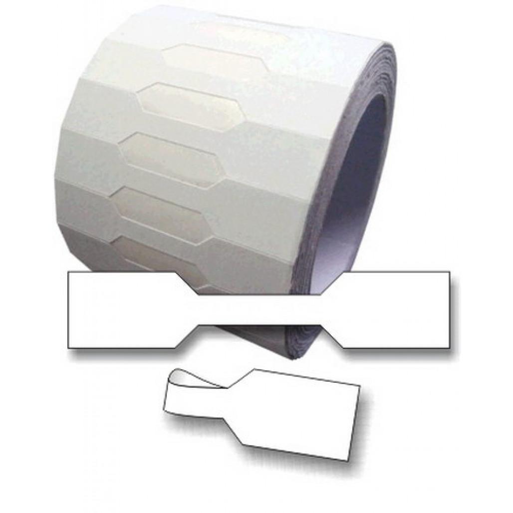 Etiqueta Adesiva Joia Fix Nº 50, 10x50 mm, em Papel Branco Fosco, para uso manual
