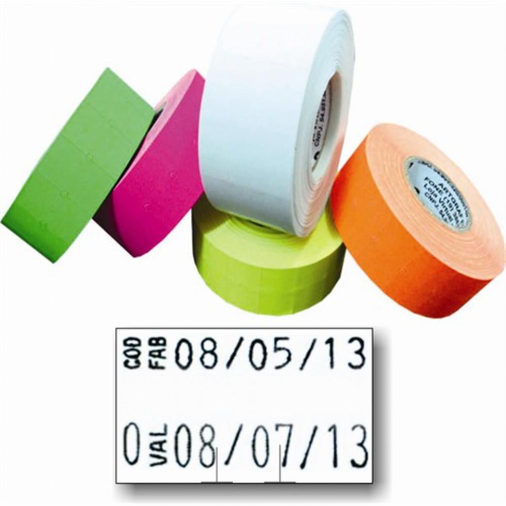 Etiqueta Adesiva, MX 2616, 26 x 16 mm para Etiquetadoras