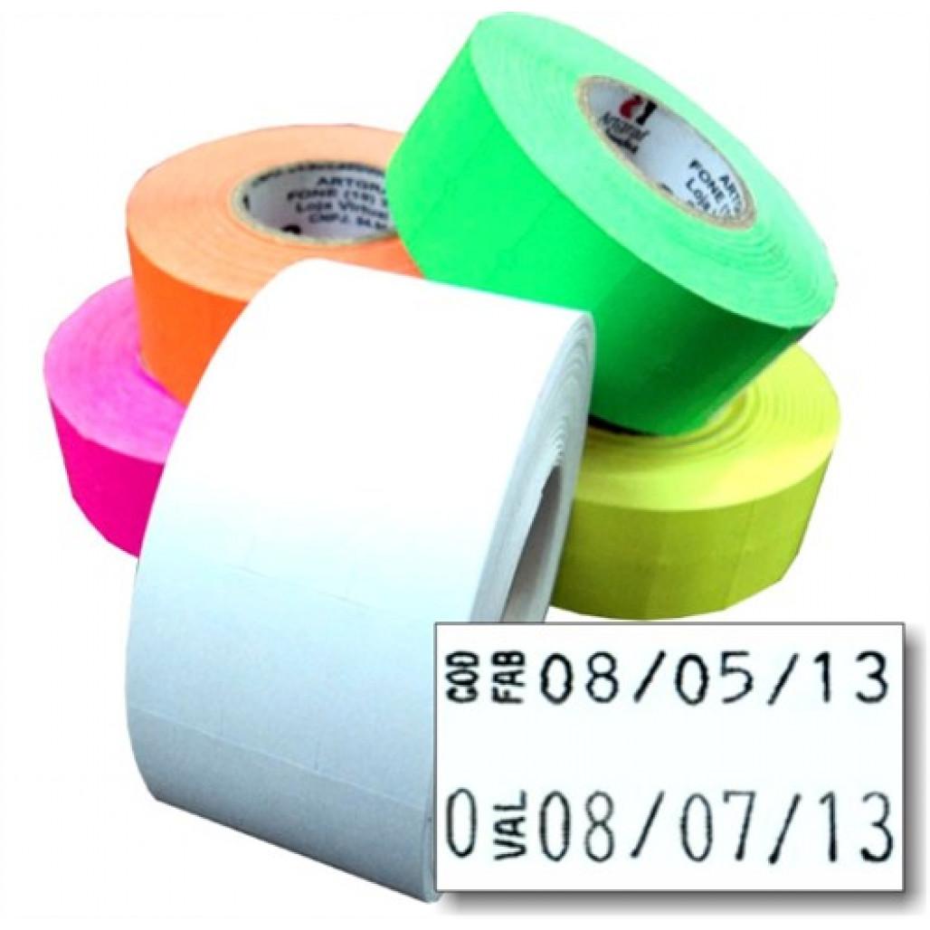 Etiqueta Adesiva, MX 2816, 28 x 16 mm para Etiquetadoras