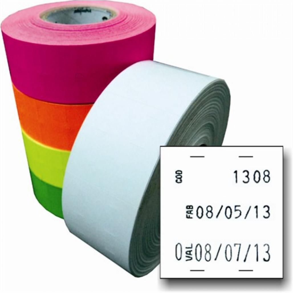 Etiqueta Adesiva, MX 2628, 26 x 28 mm para Etiquetadoras