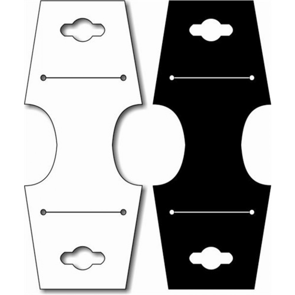 Joia Fix Nº 29 Branca ou Preta, 49 x 120 mm