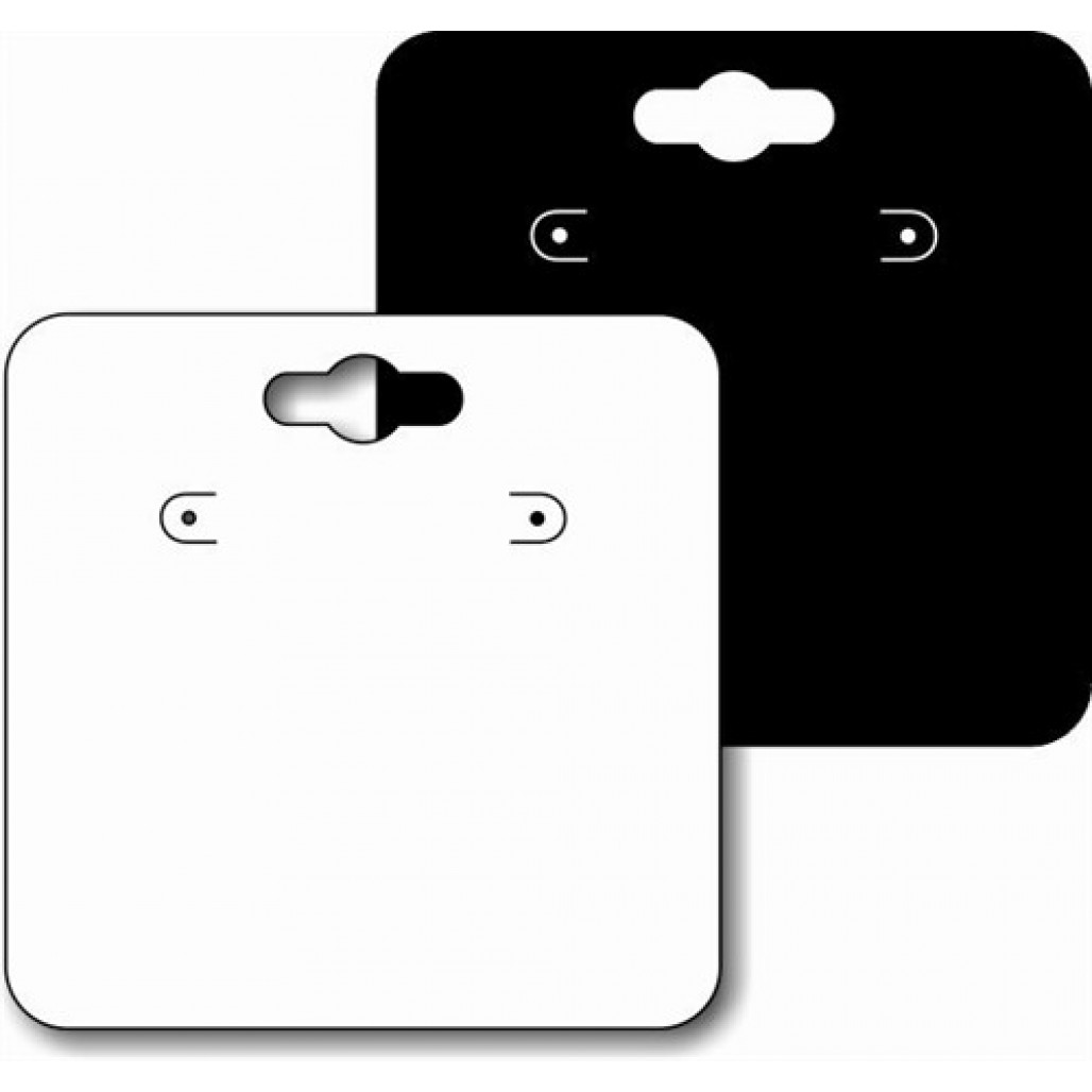 Joia Fix Nº 44 Branca ou Preta, 60 x 60 mm